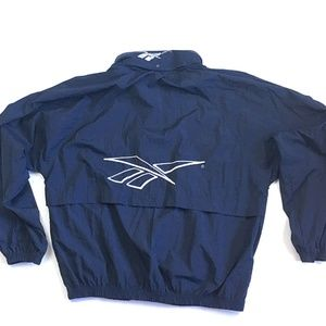 VTG Reekbok Big Logo Windbreaker Jacket Men's M XL